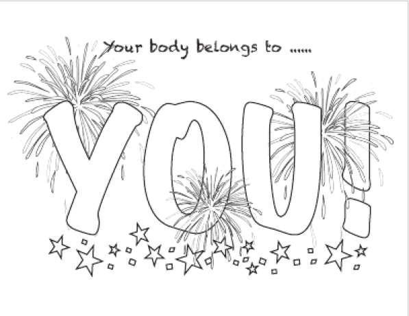 My Heart Belongs To You Coloring Page